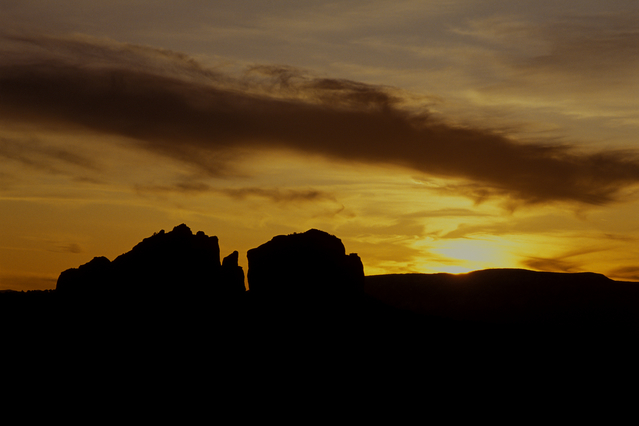 セドナの夕日